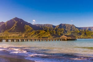 Hanalei Bay - Hawaii Ocean Photography